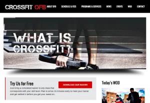 CrossFit OFB Website Design