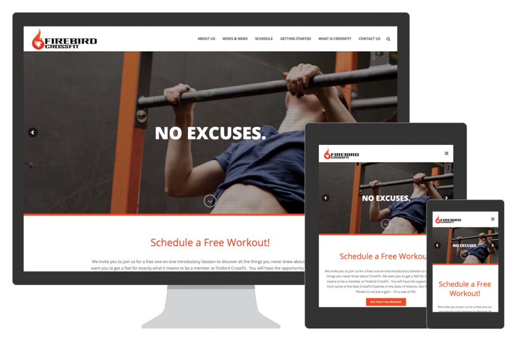 Firebird CrossFit Website