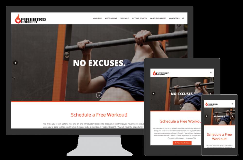 Firebird CrossFit Website