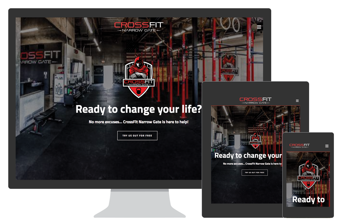 Custom CrossFit Affiliate Website