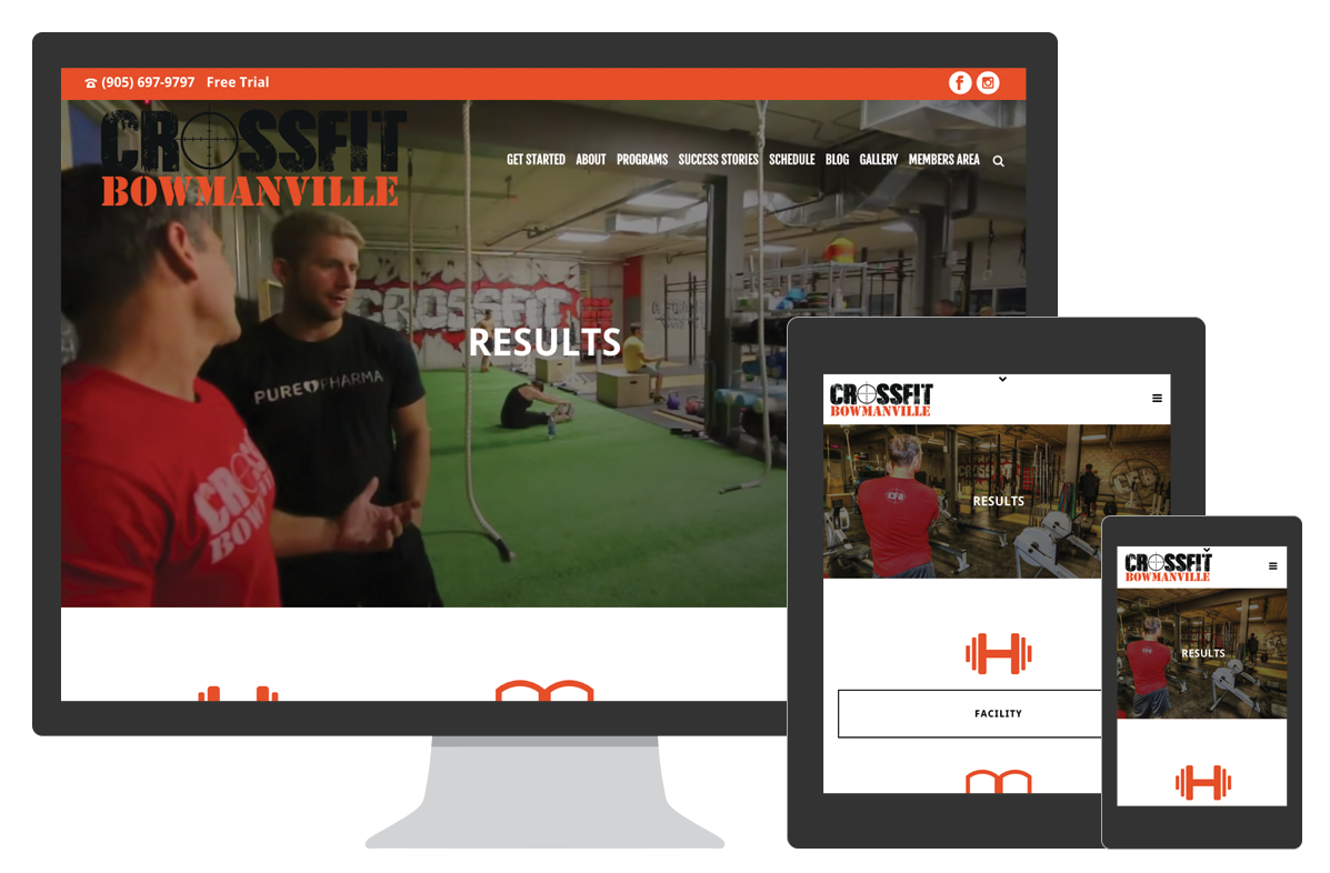 CrossFit Bowmanville Website